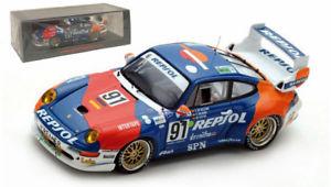 【送料無料】模型車 モデルカー スポーツカー スパークポルシェグアテマラ#レプソルルマンスケールspark s5512 porsche 911 gt2 91 heicorepsol le mans 1995 143 scale