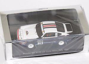 【送料無料】模型車 モデルカー スポーツカー ポルシェラリーコスタブラバ#143 porsche 911 scrs rally costa brava 1984 3 htoivonenjpiironen