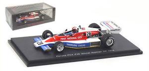 【送料無料】模型車 モデルカー スポーツカー ペンスオーストリアジョンワトソンスパーク143 penske pc4 n28 winner austrian gp 1976 john watson spark s3370 very rare