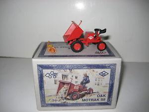 【送料無料】模型車 モデルカー スポーツカー k#oamp;k motrak s 8 dumper 645 nzg 150 ovp