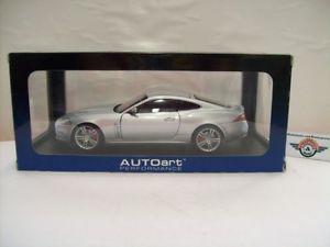 【送料無料】模型車 モデルカー スポーツカー ジャガークーペシルバーjaguar xkr coupe 2012, liquid silver, autoart 118, ovp