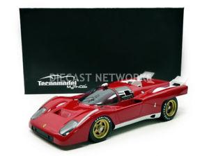 【送料無料】模型車 モデルカー スポーツカー テクノモデルフェラーリtecnomodel mythos 118 ferrari 512 m test version 1971 tm1855a