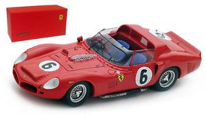 【送料無料】模型車 モデルカー スポーツカー フェラーリ#ルマンヒルスケールlooksmart ferrari 330 tri 6 winner le mans 1962 o gendebienp hill 143 scale