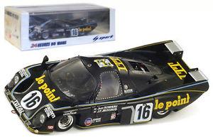 【送料無料】模型車 モデルカー スポーツカー スパーク#ルマンspark 43lm80 rondeau m379 b 16 le mans winner 1980 rondeaujaussaud 143