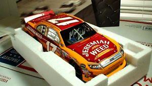 【送料無料】模型車 モデルカー スポーツカー マット#エレミヤサインエリート2011 matt kenseth 17 jeremiah weed autographed elite 124 nascar