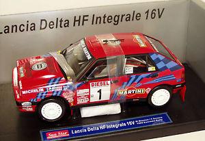 【送料無料】模型車 モデルカー スポーツカー マルティーニランチアデルタサンレモ118 martini lancia delta hf 16v integrale winner sanremo 1989 mbiasion