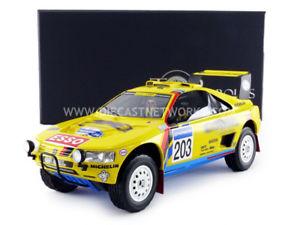 【送料無料】模型車 モデルカー スポーツカー トップマルケスプジョーパリダカールラリーtop marques collectibles 118 peugeot 405 t16 winner paris dakar 1990 tm