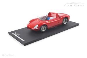 【送料無料】模型車 モデルカー スポーツカー フェラーリferrari 250 p pressevorstellung 1 of 100 118 tm07