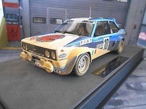 【送料無料】模型車 モデルカー スポーツカー フィアットアバルトラリーモンテカルロ#トップマルケスfiat 131 abarth rallye monte carlo 1980 winner 10 rhrl dirty top marques 118