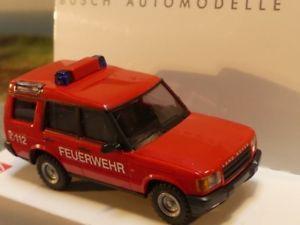 【送料無料】模型車 モデルカー スポーツカー ブッシュランドローバーディスカバリー187 busch land rover discovery feuerwehr 51910