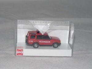 【送料無料】模型車 モデルカー スポーツカー ブッシュランドローバーディスカバリbusch 51910 land rover discovery feuerwehr 187 neu ovp