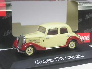 【送料無料】模型車 モデルカー スポーツカー レアメルセデスリムジンベージュselten schuco mercedes 170v limousine beigerot in 143 in ovp