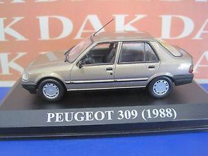 【送料無料】模型車 モデルカー スポーツカー die cast 143 modellino auto peugeot 309 1988