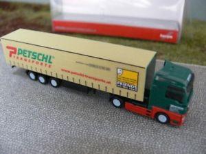 【送料無料】模型車 モデルカー スポーツカー トラックカーテン1160 herpa spurn man tgx xxl gardinenplanensz petschl a 066235
