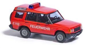 【送料無料】模型車 モデルカー スポーツカー ブッシュランドローバーディスカバリーホbusch 51910 land rover discovery 1998 feuerwehr ho 187 neu
