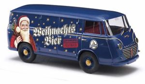 【送料無料】模型車 モデルカー スポーツカー エクスプレスクリスマスフロートbusch 94023 dreika goliath express 1100 festwagen weihnachten , h0