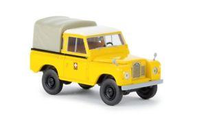 【送料無料】模型車 モデルカー スポーツカー ランドローバーbrekina 13857 187 land rover 88 ptt neu