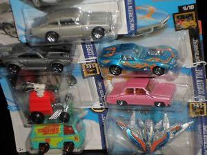 【送料無料】模型車 モデルカー スポーツカー ホットホイールガスモンキーhot wheels 7 x gas monkey simpsons fast and furious bond usw