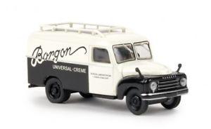 【送料無料】模型車 モデルカー スポーツカー ボックス58161 brekina hanomag l 28 kasten borgon 187