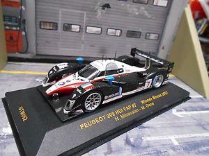 【送料無料】模型車 モデルカー スポーツカー プジョーモンツァ#ネットワークpeugeot 908 hdi fap monza 2007 winner 7 minassian gene total sp ixo 143