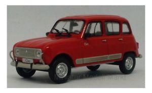 【送料無料】模型車 モデルカー スポーツカー 270 whitebox renault 4 clan rot 1978 143