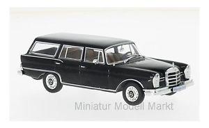 【送料無料】模型車 モデルカー スポーツカー メルセデスユニバーサルブラック207 whitebox mercedes 230 s universal schwarz 1967 143