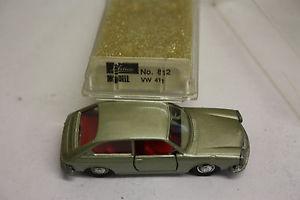 【送料無料】模型車 モデルカー スポーツカー schuco 166 812 vw 411 metallic ovp js1724
