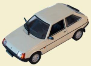 【送料無料】模型車 モデルカー スポーツカー モデルrus zaz 1102 tavria modell 143 aus metall kultowe auta prl 055
