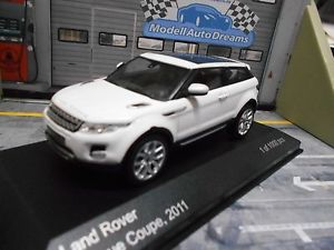 【送料無料】模型車 モデルカー スポーツカー レンジローバークーペネットワークホワイトホワイトホワイトボックスrange rover evoque coupe 2011 weiss white ixo white box 143