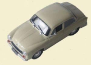 【送料無料】模型車 モデルカー スポーツカー モデルpl syrena 105 modell 143 aus metall kultowe auta prl 033