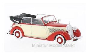 【送料無料】模型車 モデルカー スポーツカー メルセデスカブリオレライトベージュ224 whitebox mercedes 230 w153 cabriolet rothellbeige 1939 143