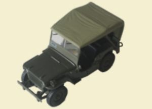 【送料無料】模型車 モデルカー スポーツカー us jeep willys mb modell 143 aus metall kultowe auta prl 082