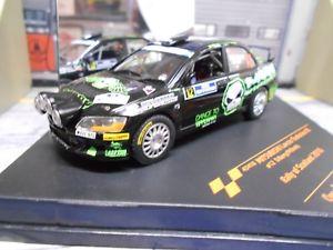 【送料無料】模型車 モデルカー スポーツカー ランサーエボラリースコットランド#バリーアルパインメドウズmitsubishi lancer evo ix 9 rallye scotland 2010 12 barry nightver vitesse 143
