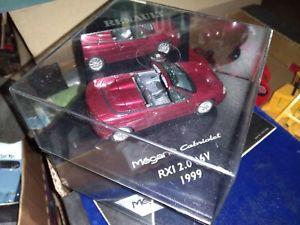 【送料無料】模型車 モデルカー スポーツカー ルノーメガーヌカブリオレヌフvitesse renault megane cabriolet rxi 20 16v 1999 neuf boite