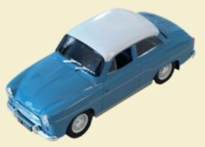 【送料無料】模型車 モデルカー スポーツカー モデルpl syrena 102 modell 143 aus metall kultowe auta prl 058