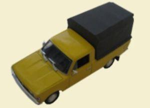 【送料無料】模型車 モデルカー スポーツカー フィアットピックアップモデル
