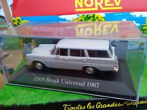 【送料無料】模型車 モデルカー スポーツカー ixo mercedes benz 230s universal 1967 neuf en boite 143