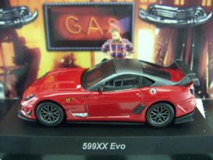 【送料無料】模型車 モデルカー スポーツカー フェラーリフェラーリレッドミニコレクションkyosho ferrari 599xx evo [ red ] ferrari minicar collection 12