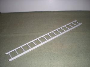 【送料無料】模型車 モデルカー スポーツカー ビンテージスチールvintage steel ladder worig paint grt cond 18 by 2  15 rung
