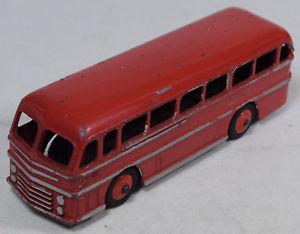 【送料無料】模型車 モデルカー スポーツカー #マスターバスレッドハットシルバーフラッシュdinky 282 duple roadmaster bus, red w silver flash, goodvg orig cond, 1950s