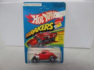 【送料無料】模型車 モデルカー スポーツカー ビンテージホットホイールvintage hot wheels hirakers 3window 34 no 1132
