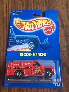 【送料無料】模型車 モデルカー スポーツカー ホットホイールレスキューレンジャー#スピードポイント1989 hot wheels rescue ranger 45 w speed points