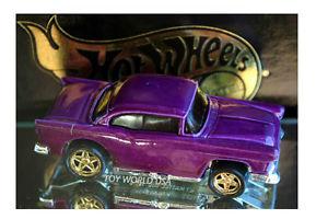 【送料無料】模型車 モデルカー スポーツカー ホットホイールシボレーゴールドシリーズシリーズ#ブラック1994 hot wheels 55 chevy gold series collec series 1 fao schwarz exc
