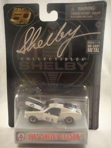 【送料無料】模型車 モデルカー スポーツカー ァーシェルビーグッズ#neues angebotshelby collectibles 1965 shelby gt350r 61b 50 years white 164