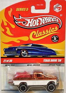 【送料無料】模型車 モデルカー スポーツカー ホットホイールシリーズテキサスドライブ#hot wheels classics series 5 27 of 30 texas drive em
