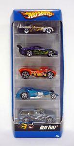 【送料無料】模型車 モデルカー スポーツカー ホットホイールフリートパックセット