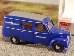 【送料無料】模型車 モデルカー スポーツカー ブッシュ187 busch framo v902 halbbus barkas werke 51273