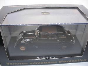 【送料無料】模型車 モデルカー スポーツカー フランスコレクションプジョーvoiture 143 norev france collection cec v4954 peugeot 402 b noire