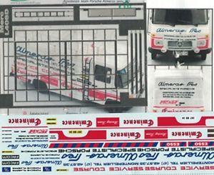 【送料無料】模型車 モデルカー スポーツカー トランキットメルセデスベンツポルシェアリーナtranskit 143 mercedes benz l460 assistenza porsche almeras anni 80 arena tk042