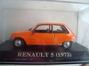 【送料無料】模型車 モデルカー スポーツカー ルノーオレンジユニバーサルホビーrare renault 5 orange 1972 universal hobbies 143 boite plexi